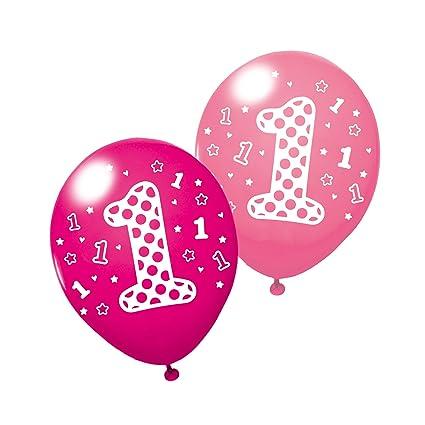 SUSY CARD Globos 40011950 para Primer cumpleaños, para niña ...