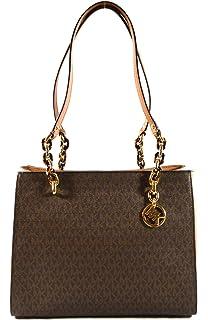 a2fa4023d457 Michael Kors Sofia Large Saffiano Leather Tote Shoulder Bag Purse Handbag