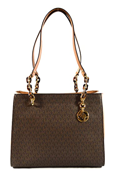 31b6f4e7e91d72 Amazon.com: Michael Kors Sofia Large Saffiano Leather Tote Shoulder Bag  Purse Handbag (Brown/Acorn): Shoes
