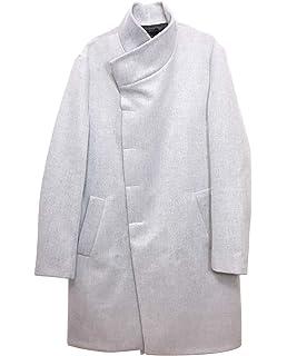 5552d56e Zara Men Lapel Collar Coat 0706/380 at Amazon Men's Clothing store: