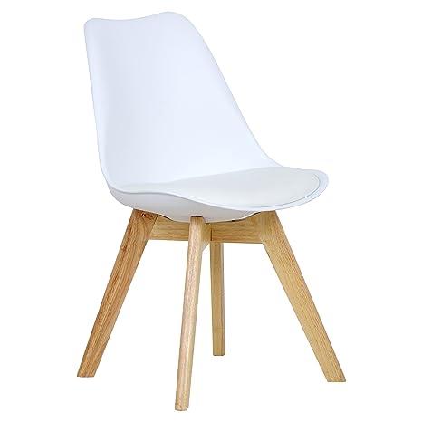 Sedute In Plastica Per Sedie.Woltu Bh29ws 1 Sedie Per Sala Da Pranzo Sedia Cucina Sgabello Con