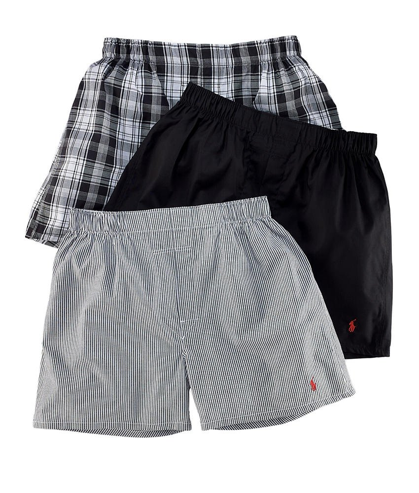 Polo Ralph Lauren Classic Woven Boxer 3-Pack LCWB