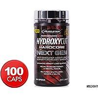 Muscletech Hydroxycut Hardcore Next Gen 100ct AU, 107.50 ml