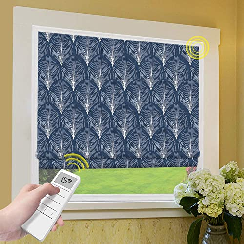 Motorized Roman Shades Window Blind