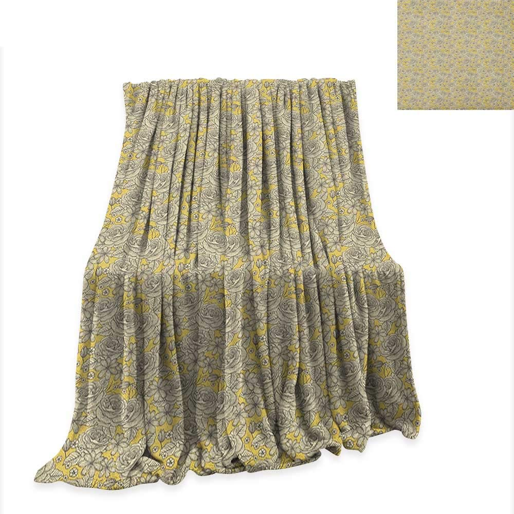 Amazon.com: Anyangeight Vintage Throw Blanket Groovy Bauhaus ...