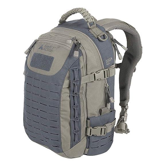 df50b3ea0d617 Direct Action Dragon Egg Mk2 Backpack Urban Grey Shadow Grey  Amazon.co.uk   Clothing