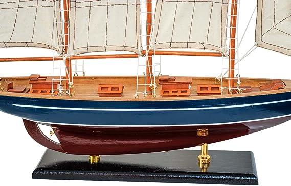 Modelo de nave Marco Polo velero modelos de barcos 59cm estilo antiguo