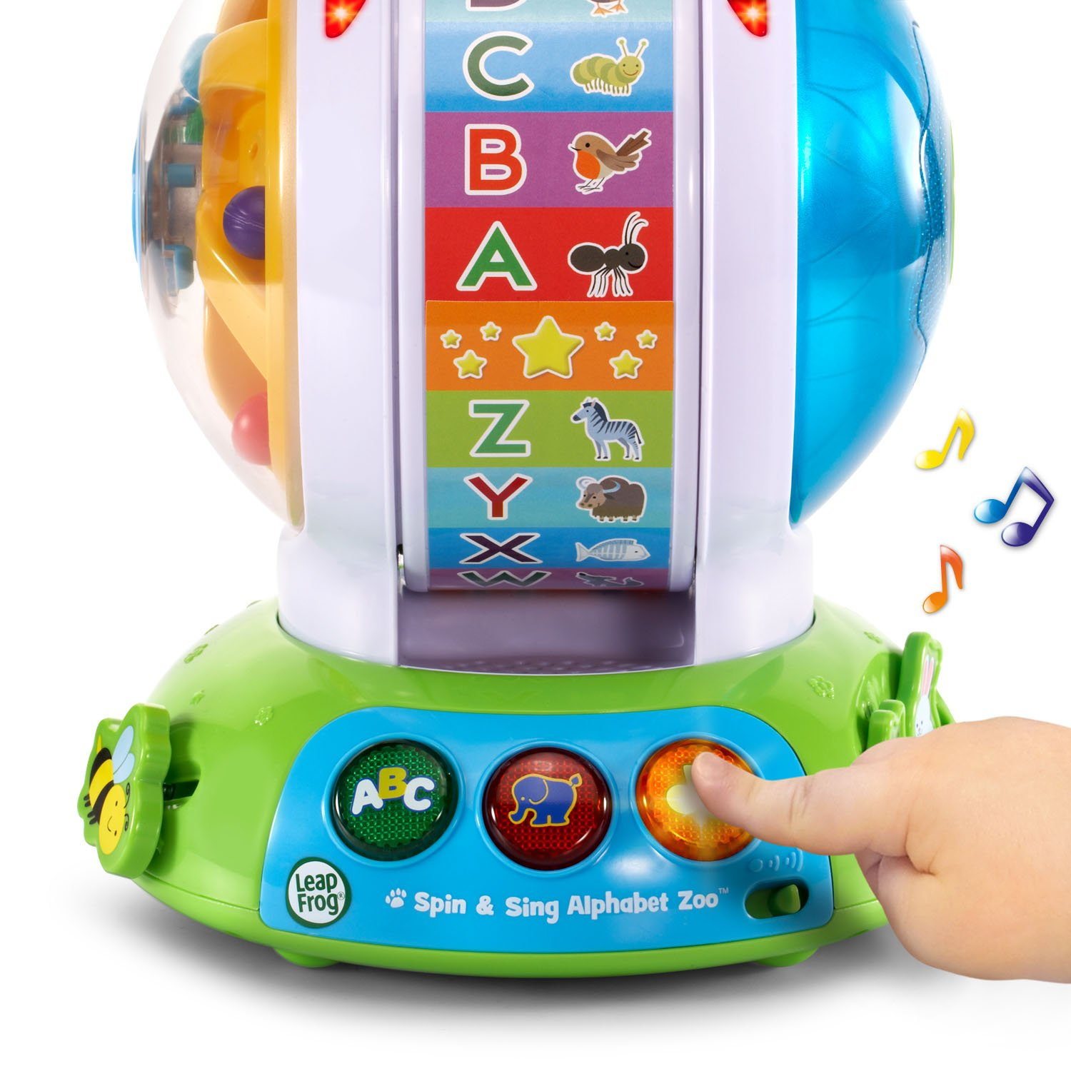 Amazoncom Leapfrog Spin And Sing Alphabet Zoo Toys Games