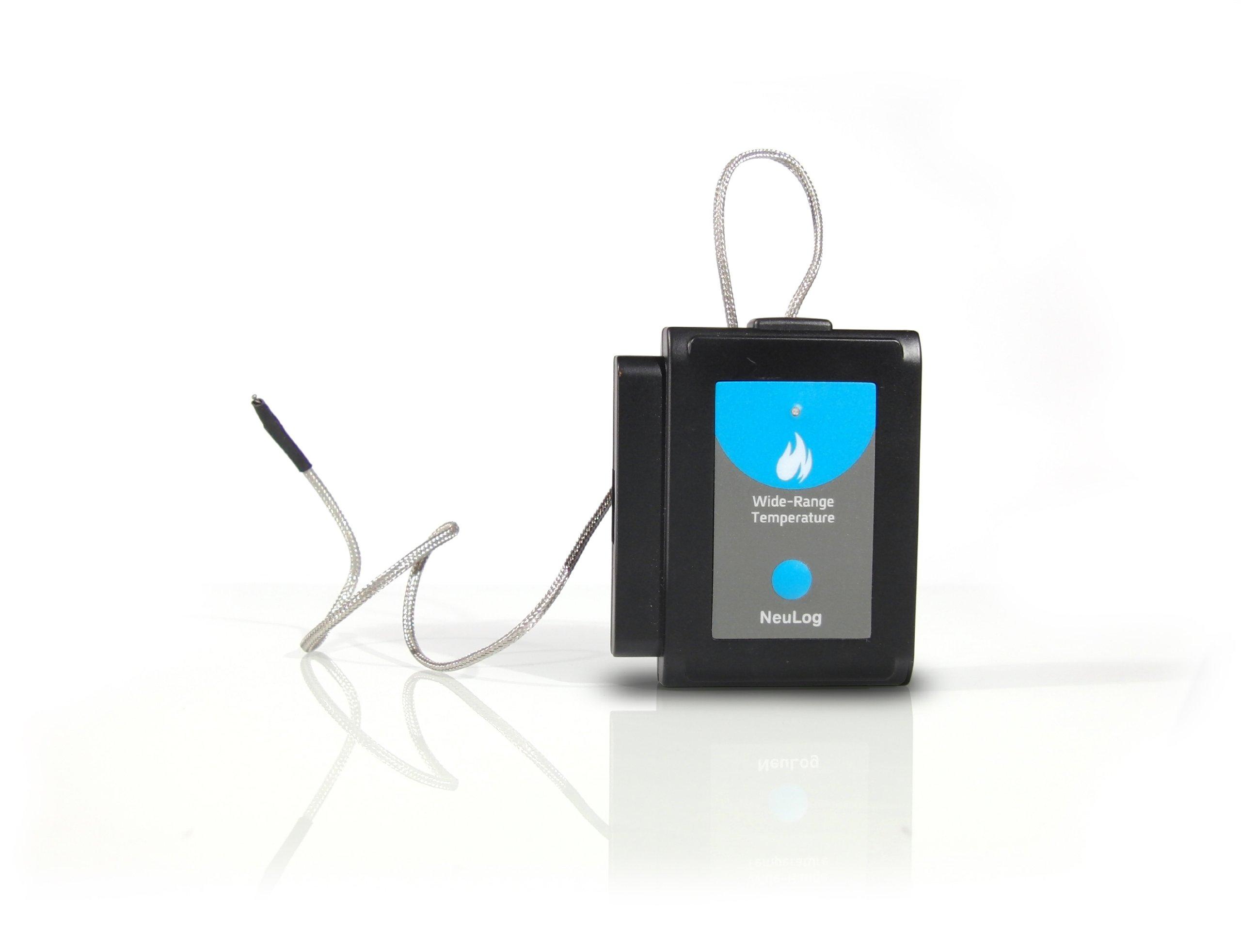 NEULOG Wide Range Temperature Logger Sensor, 15 bit ADC Resolution