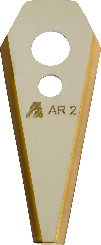 Arnold 1111de B3–1009Tin Cut Cuchillas de repuesto AR2apta para Bosch INDEGO Robot cortacésped, 9unidades), 9 ARNOLD Products 1111-B3-1009