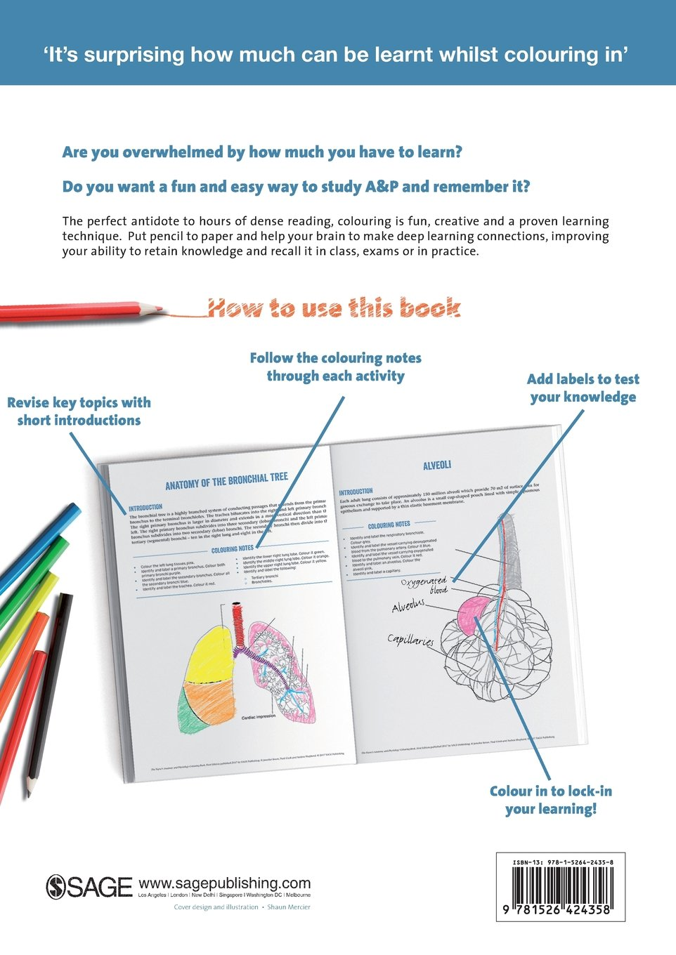 The Nurse\'s Anatomy and Physiology Colouring Book: Amazon.co.uk ...