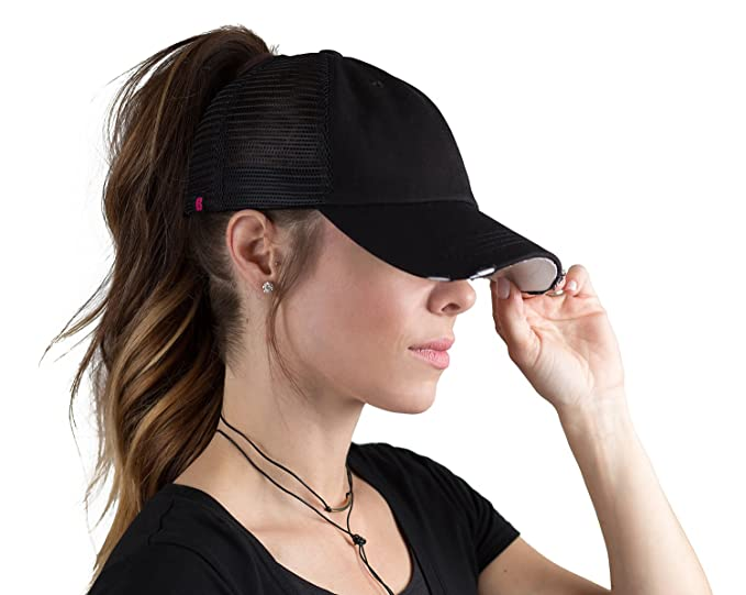 Image Unavailable. Image not available for. Colour  BOEKWEG ponytail hat. Fashionable  hats made for ponytails. 52835fe59055