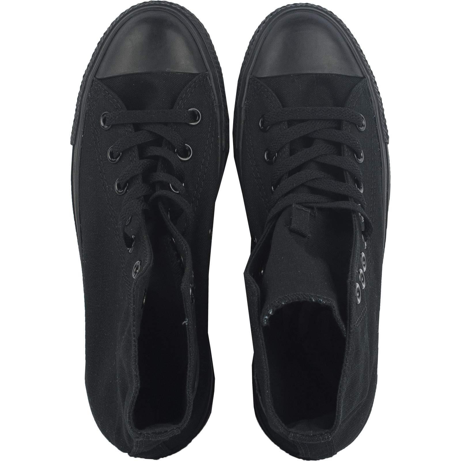 Converse M9160: Chuck Taylor All Star High Top Unisex Black White Sneakers by Converse (Image #11)