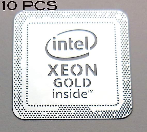 VATH 10 Pieces of Original Intel Core m3 Inside Sticker 18 x 18mm 11//16 x 11//16 928x10