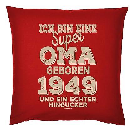 Tini Shirts Kissen 70 Geburtstag Oma Geschenk Idee Deko