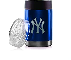 MLB Stainless Steel Double-Wall Vacuum-Sealed Hydro Can Bottle Holder and Cup