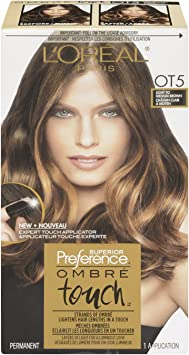 L Oreal Paris Superior Preference Ombre Touch Haircolour Ot5 Light Tomedium Brown Amazon Ca Beauty