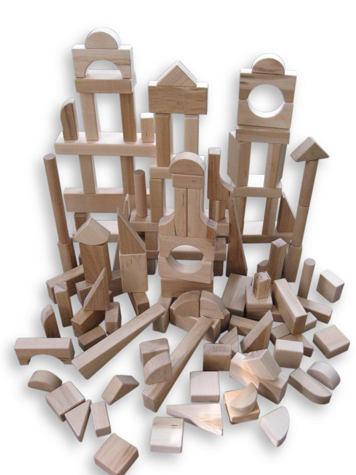 Beka 120-Piece Special Shapes Wooden Blocks