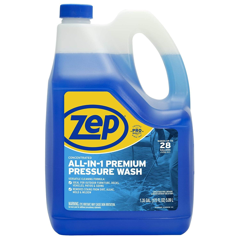 Zep All-in-1 premium Pressure Washing Concentrate (172 Fl. Oz/5.09L)
