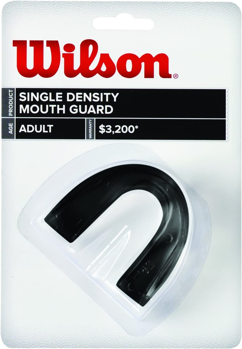Football MOUTH GUARD Wilson YOUTH  BLUE DOUBLE  Density Multi-Sport
