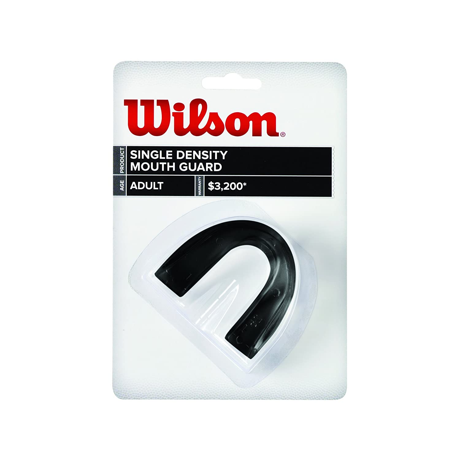 Wilson Single Density Mouthguard without Strap Wilson Sporting Goods - Team WTFMG124C-parent