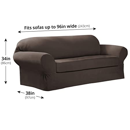 MAYTEX Collin Stretch - Funda para sofá, Moca, Sofa: Amazon ...