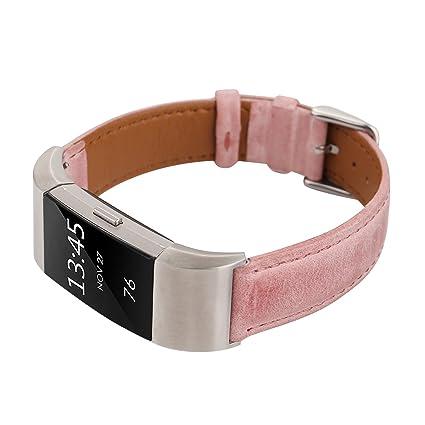 Smartwatch Fitness Armband pink für FitBit Flex 2