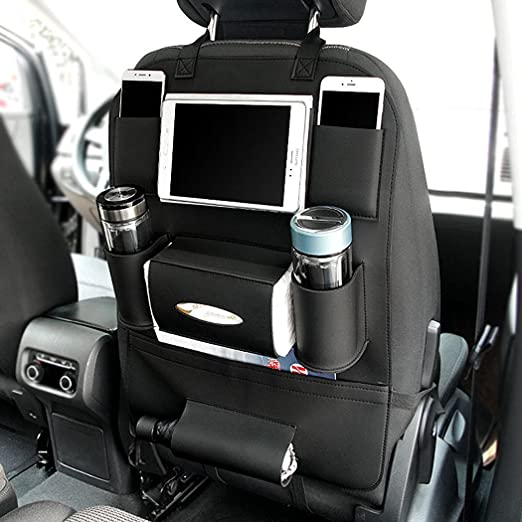 Amazon.com: Car Back Seat Organizer with Larger Protection & Storage