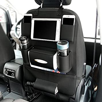 Amazon.com: Car Back Seat Organizer with Larger Protection & Storage ...