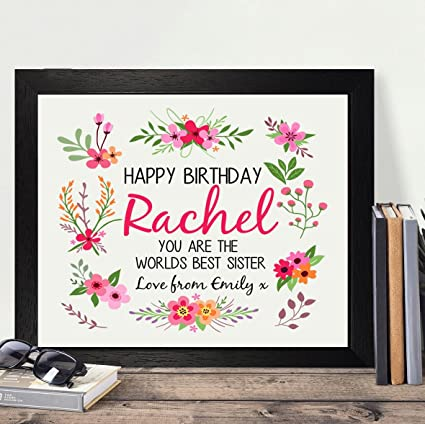 amazon com personalized presents gifts for sister best friends