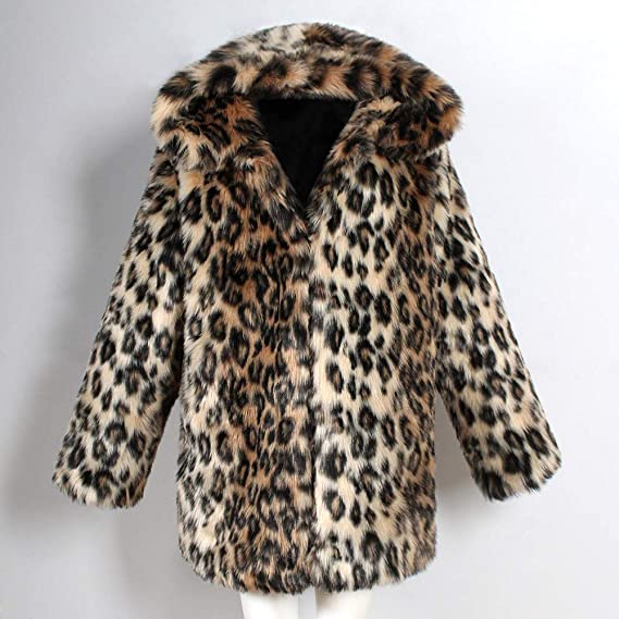 Amazon.com: KpopBaby Clearence Mens Coats Leopard Winter Warm Thick Collar Jacket Parka Outwear Outcoat: Clothing