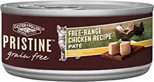 Castor & Pollux Pristine Grain Free Canned Wet Cat Food (24) 3oz & 5.5oz Cans