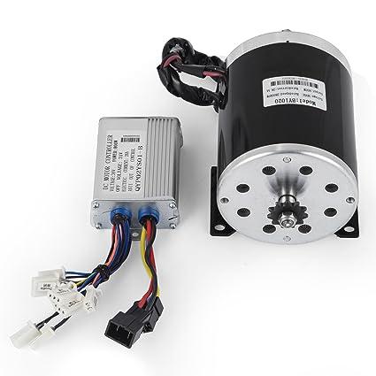 Amazon com: VEVOR Electric Motor 36V 800W DC Motor 2750-3045 RPM