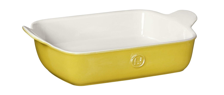 "Emile Henry Made In France HR Modern Classics Small Rectangular Baker, 11 x 8"", Yellow"