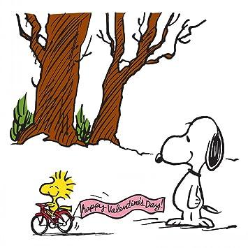 Amazon De Peanuts Pe Val 14 C 32 Woodstock Happy Valentinstag