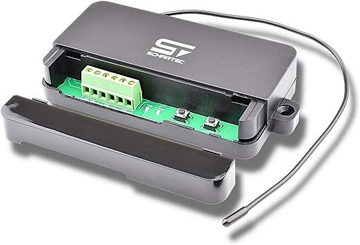 SCHARTEC Universal Funkempf/änger 230v mit Fernbedienung 2 Stk Funk Empf/änger Garagentor mit 433 MHz als Set mit Handsender