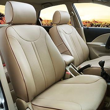 Amazon.es: Auto decorun Custom Fit de piel sintética asiento ...