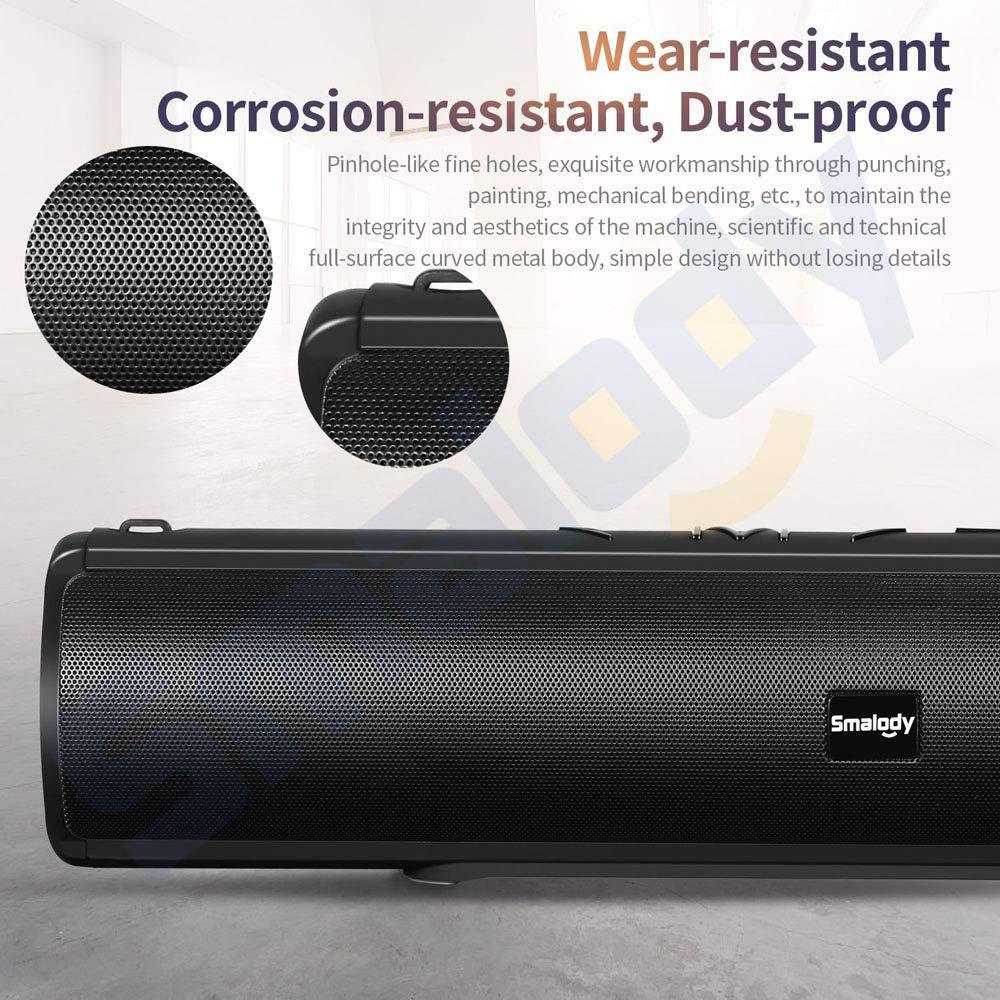 ZMM Altavoces inalámbricos Bluetooth, para teléfonos Inteligentes Ultra Bass, Altavoz portátil al Aire Libre Camping Senderismo Viajar,Black: Amazon.es: ...