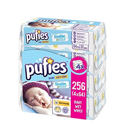 Pufies Baby Art Dry - Frescas toallitas,