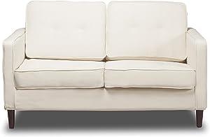 Sofas 2 Go S2G Franklin Glacier Loveseat, One Size