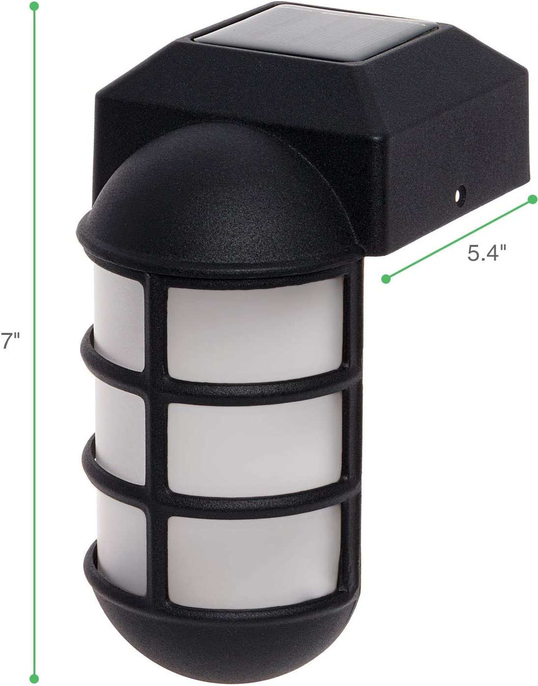 Metal Side Mount Dock Light for 4x4 Wood Posts GreenLighting 8 Pack Marina Solar Post Cap Lights