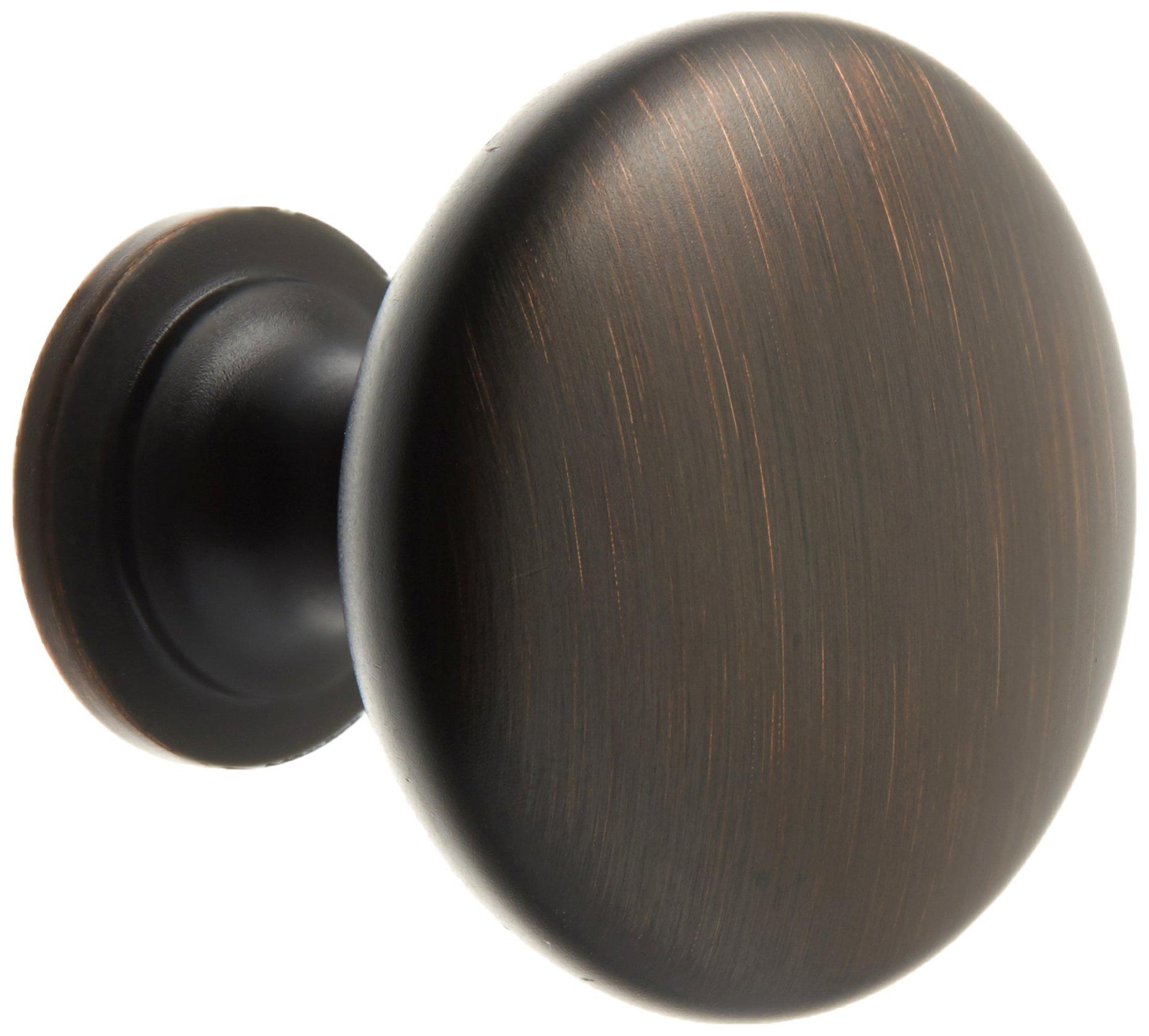 Amerock BP53005-ORB Allison Oil Rubbed Bronze Round Cabinet Knob 35 Pack
