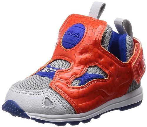 Reebok Infant Classic Versa Pump Trainers Fury SYN Children Unisex Shoes  V62994 (3.5 UK Infant 8f7cf8bc7