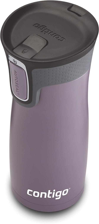 Contigo Westloop Gobelet Thermos Plum Neuf bouteille 2020 parcours extérieur sûr Violet