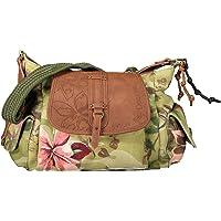 Desigual Women's Fabric Shoulder Bag, Green, U U