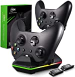 Controller Charger for Xbox One, CVIDA Dual Xbox One/One S/One Elite