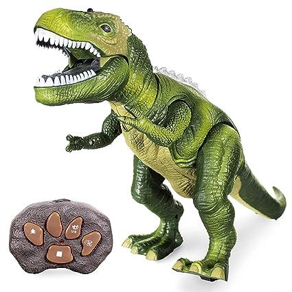 Amazon Com Jurassic World Remote Control Rc Walking Dinosaur T Rex