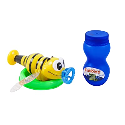 Little Kids Fubbles Bubble Glitter Bug: Toys & Games