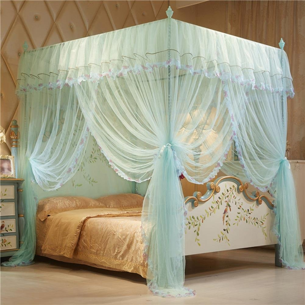 150 200cm grande taille baldaquin pour lit double. Black Bedroom Furniture Sets. Home Design Ideas