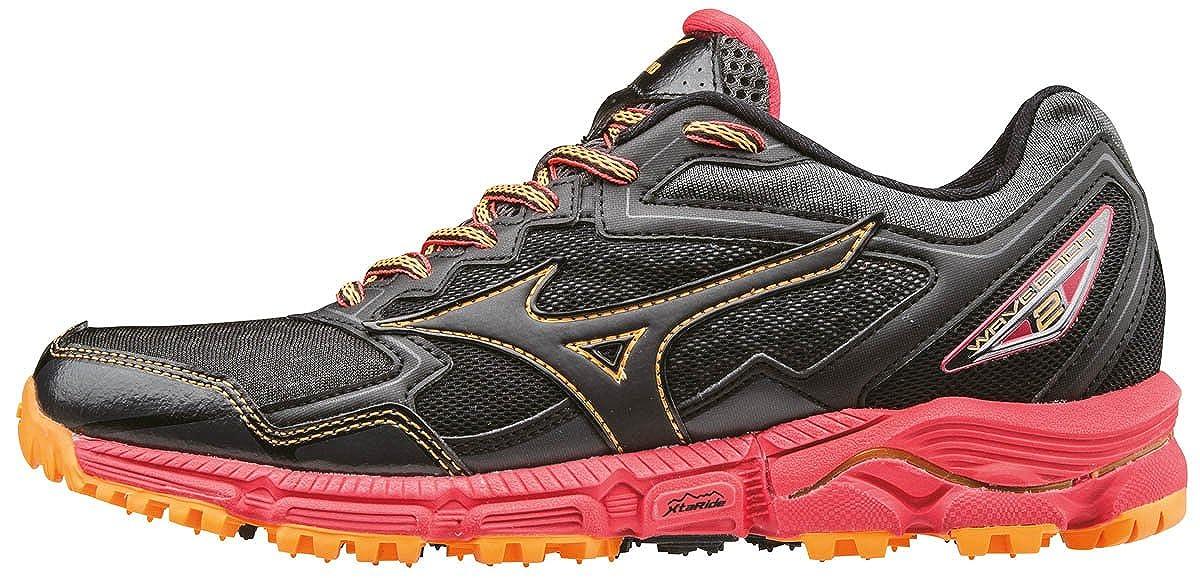 Mizuno Wave Daichi 2 (W), Zapatillas de Running para Asfalto para Mujer, Negro J1GD1771